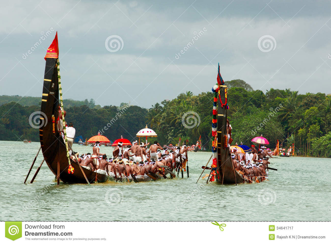 Snake Boat Races Of Kerala Editorial Photography - Image: 34641717