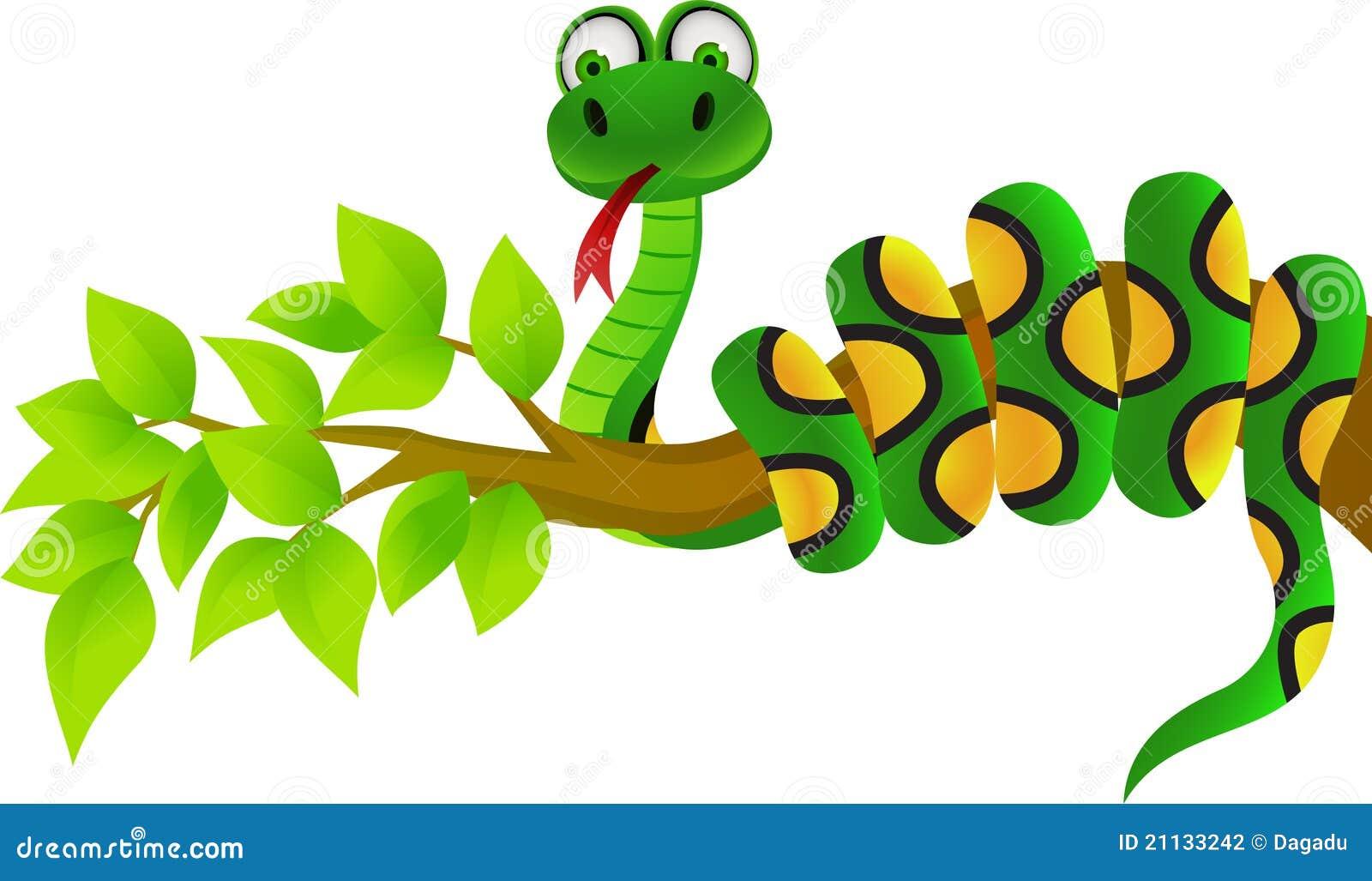 Green snake cartoon royalty free stock image image 19462406 - Snake Cartoon Stock Funny Snake Cartoon