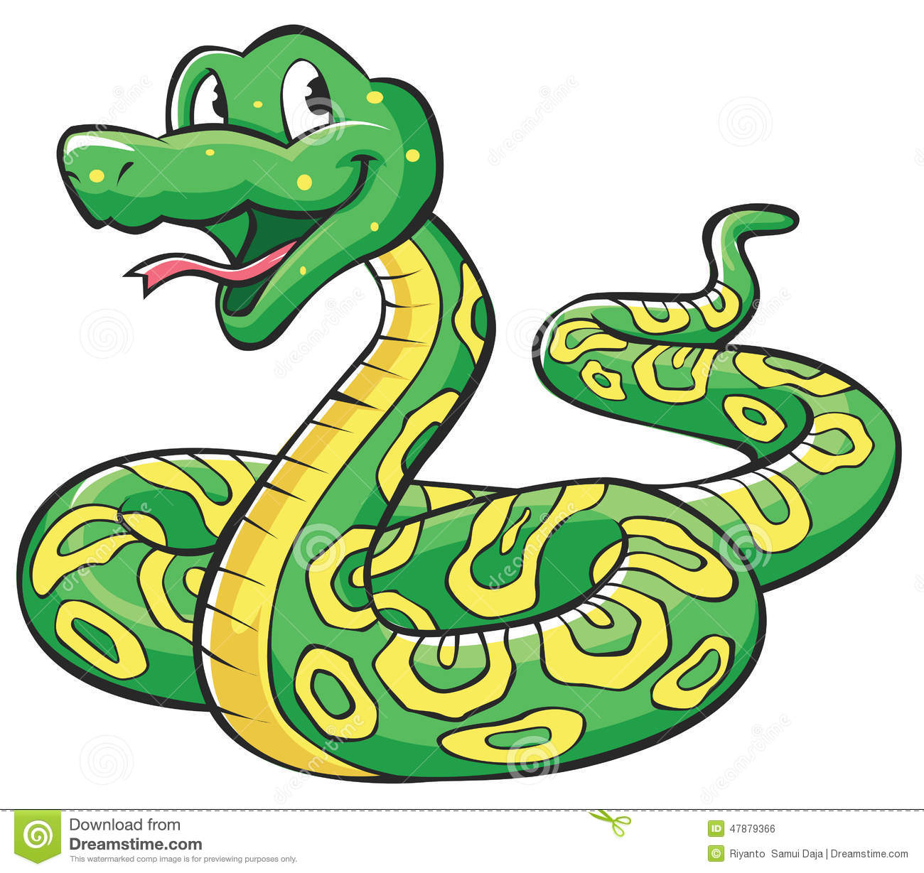 Snake Cartoon Stock Vector - Image: 47879366