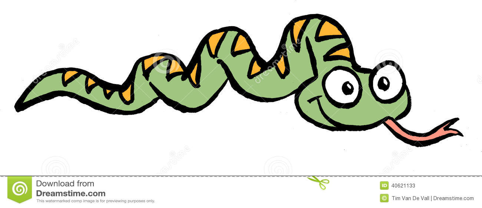 Snake Cartoon Stock Illustration - Image: 40621133