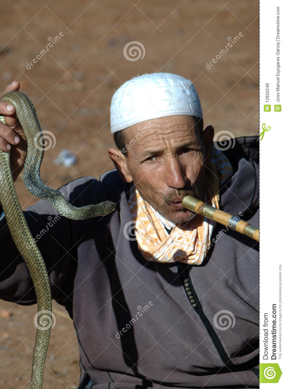 The Charmer Pages Lisa Kudrow For More: The Snake Charmer Editorial Stock Photo