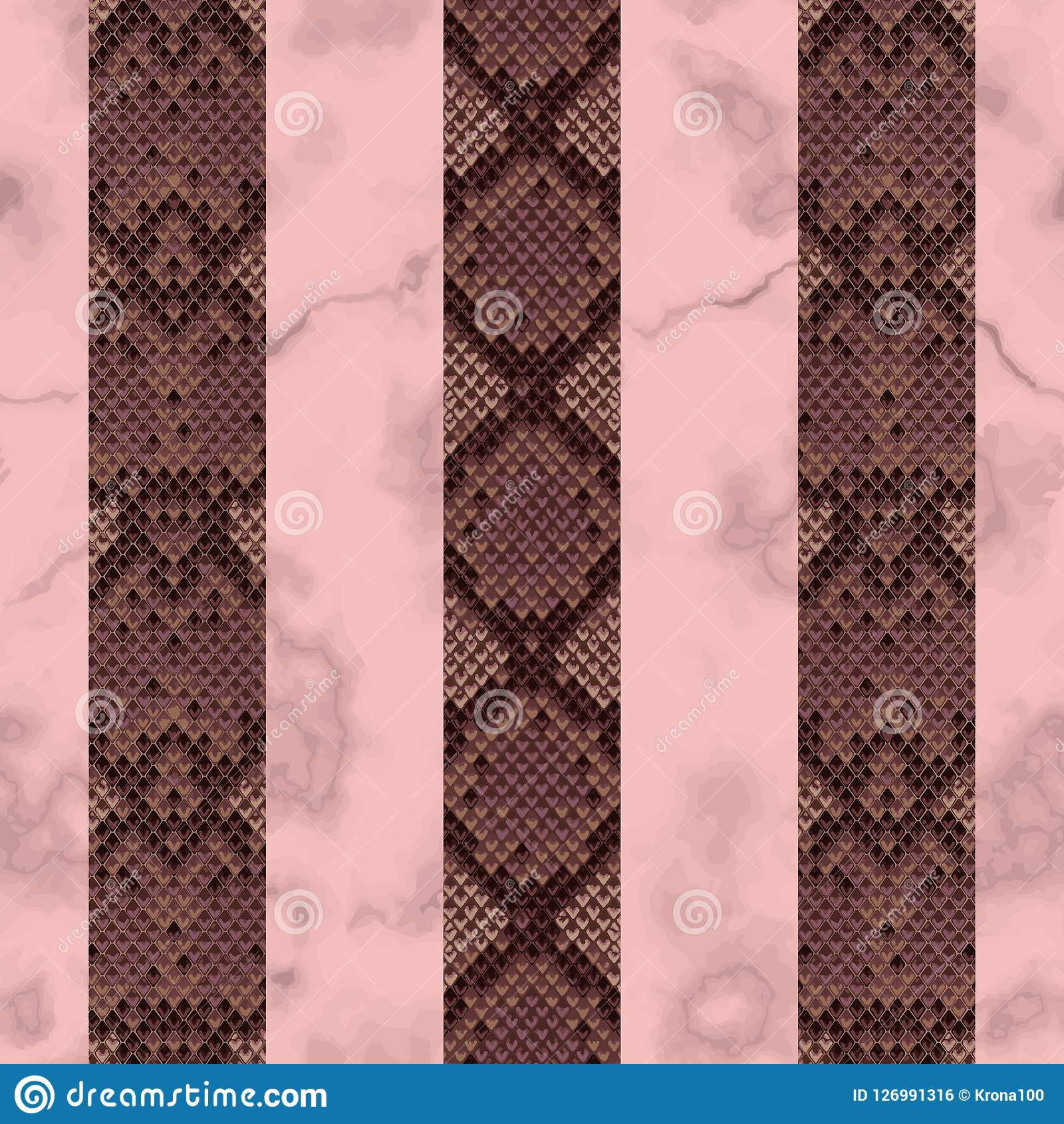 10e558af2def48 Snakeskin and marble pink and maroon vertical seamless pattern. Animal  luxury striped colorful repeat wallpaper for textile prints
