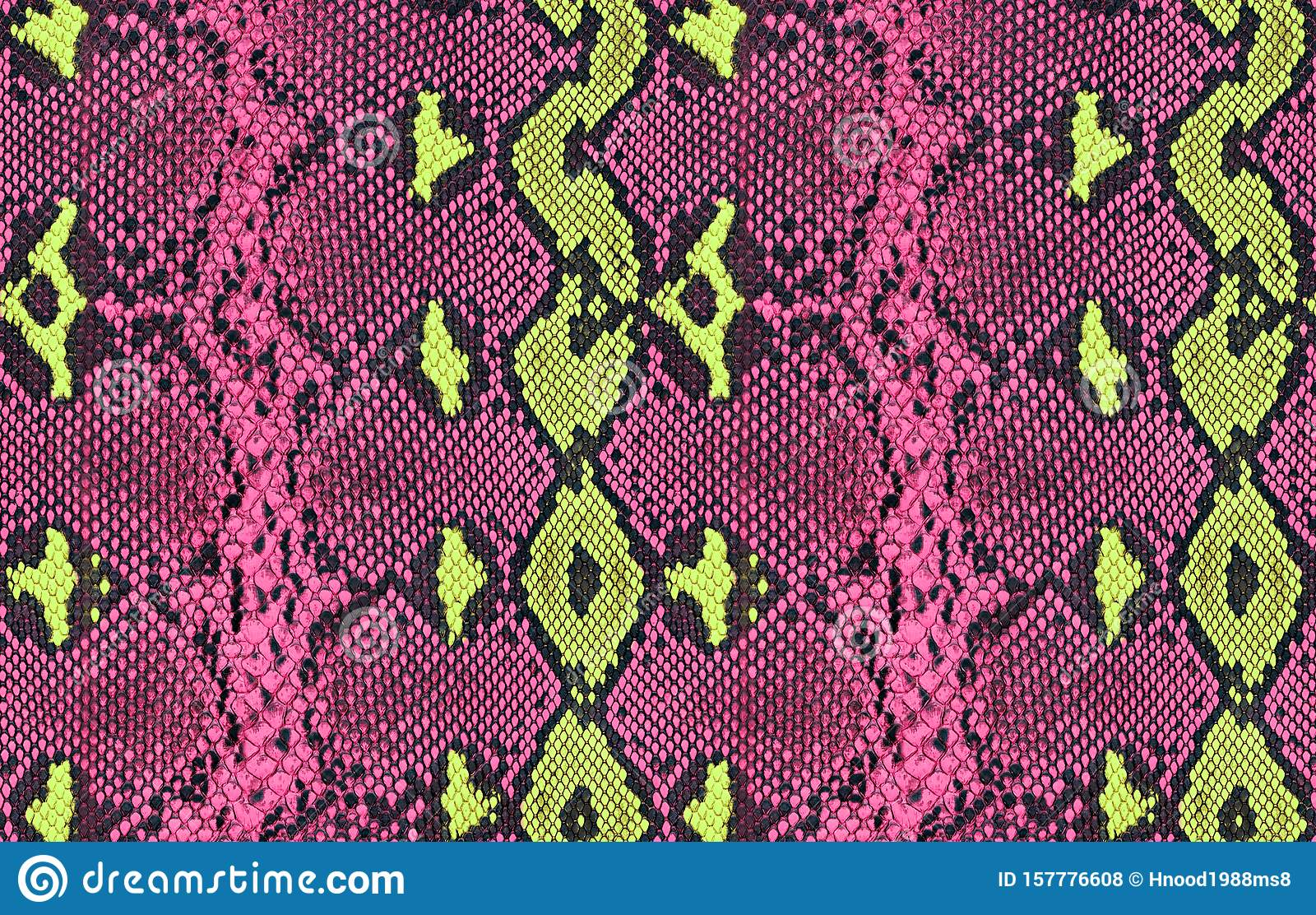Snake skin pattern texture repeating seamles