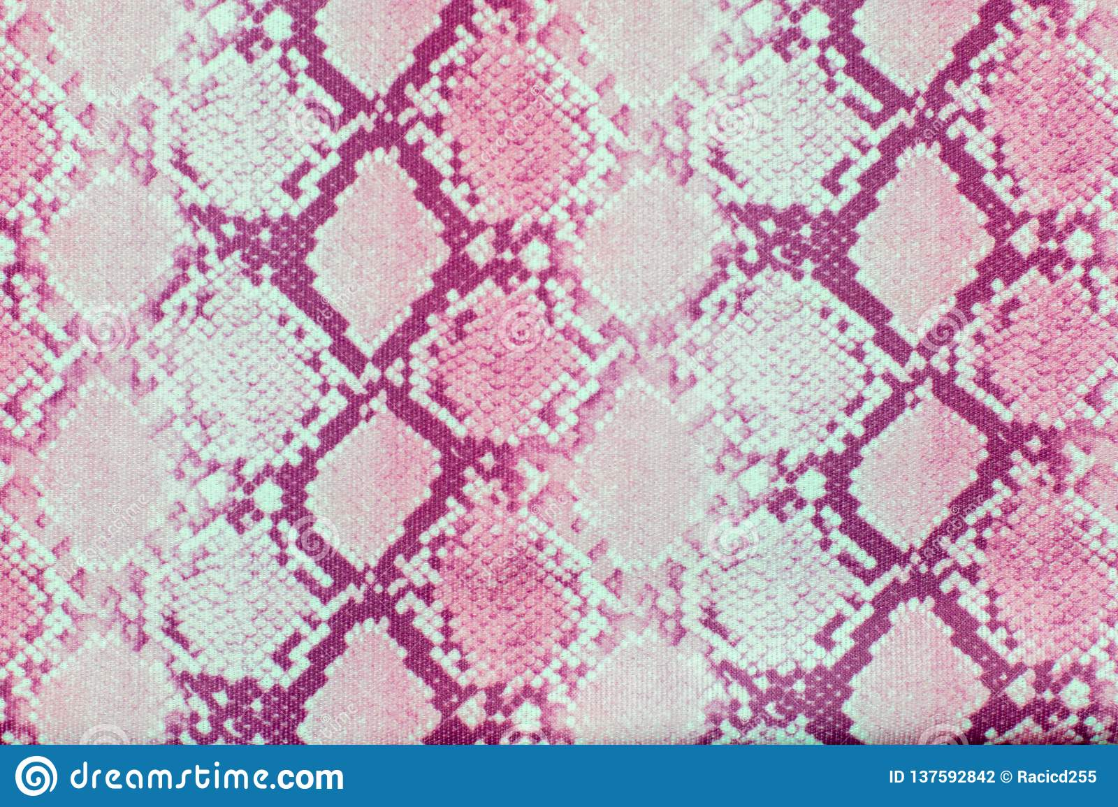 d4f75f26de7bc1 Snake skin pattern texture repeating seamless pink . Vector. Texture snake.  Fashionable print.