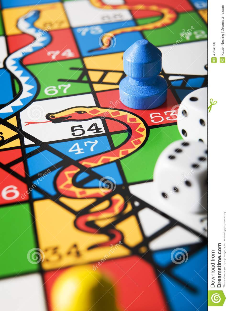Snakes And Ladder Board Royalty Free Stock Photos Image
