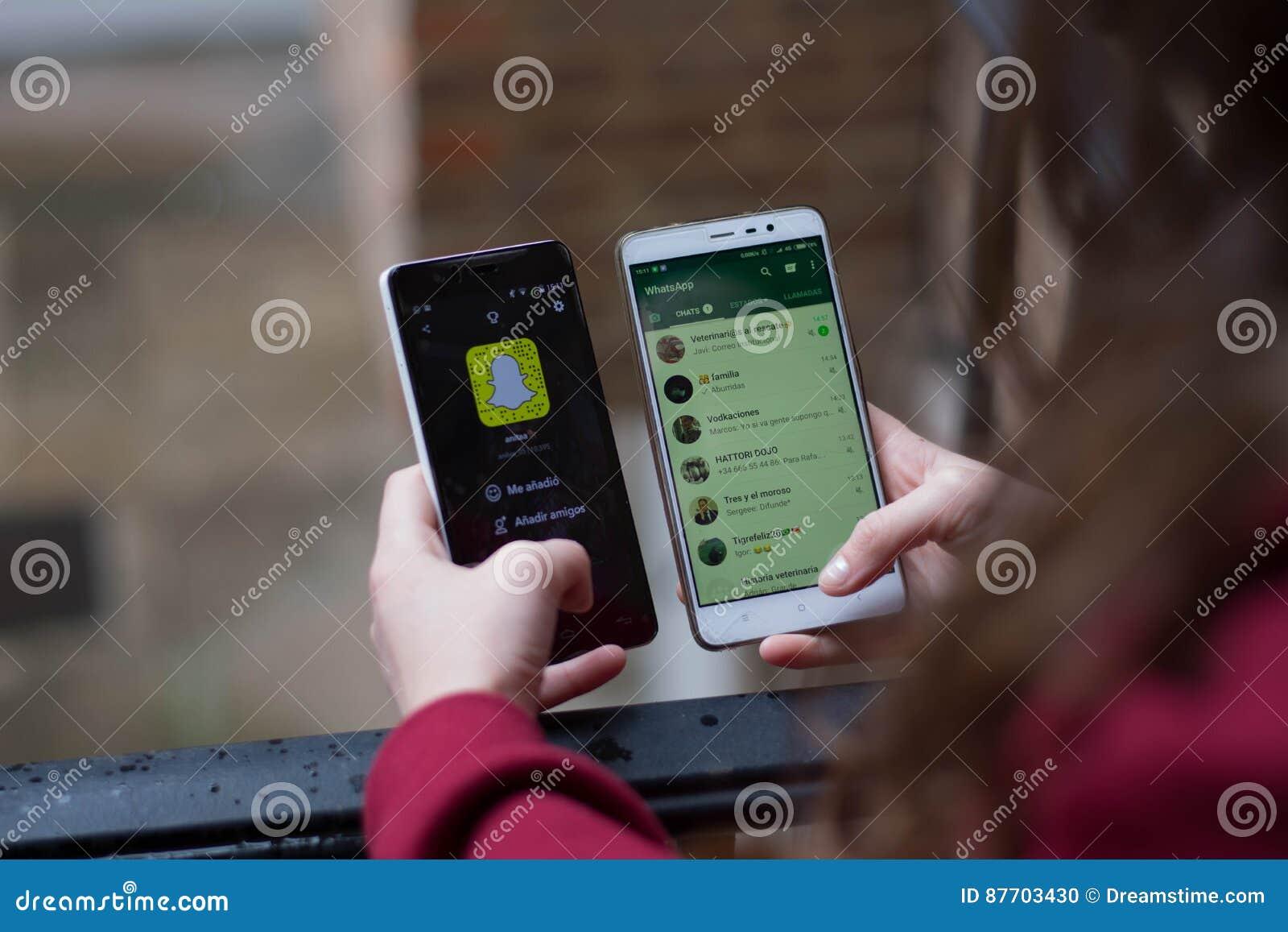 Snapchat d agaisnt de Whatsapp, snapchat dans l agaisnt de marché boursier