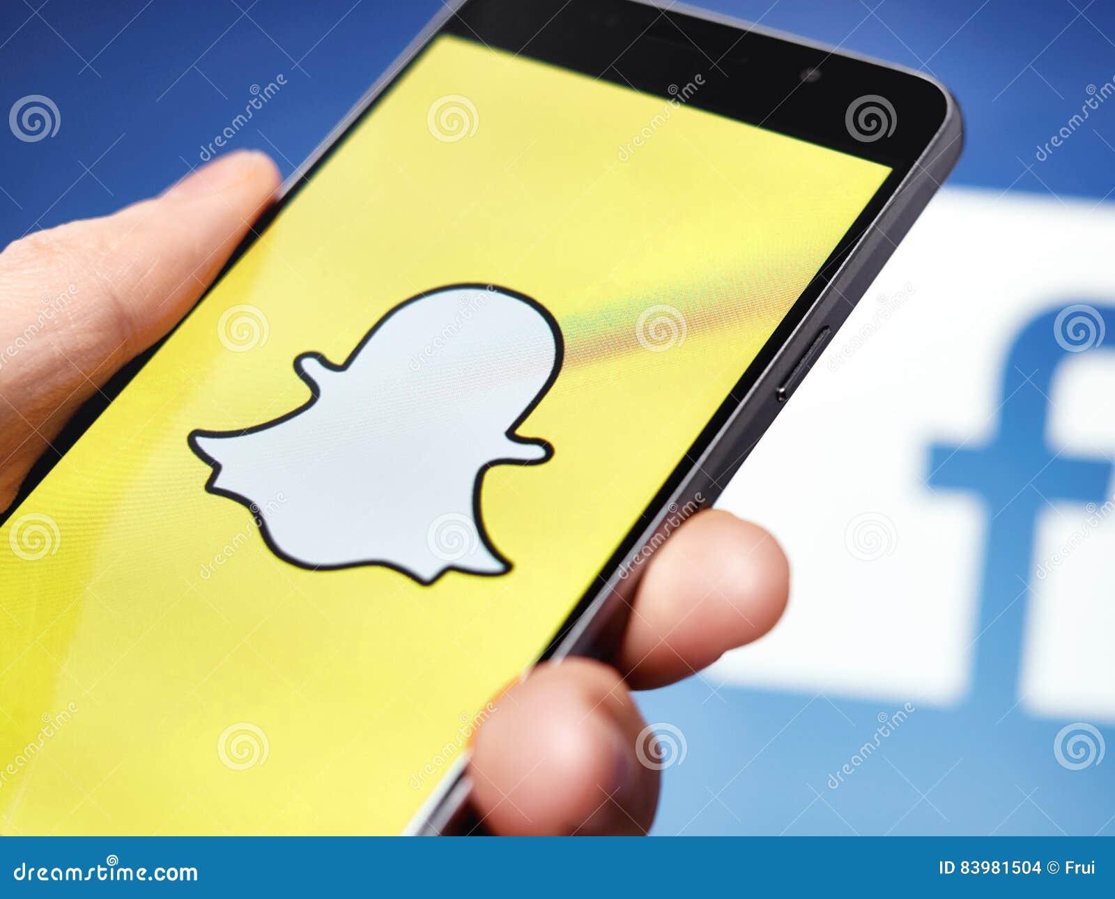 Snapchat en Facebook