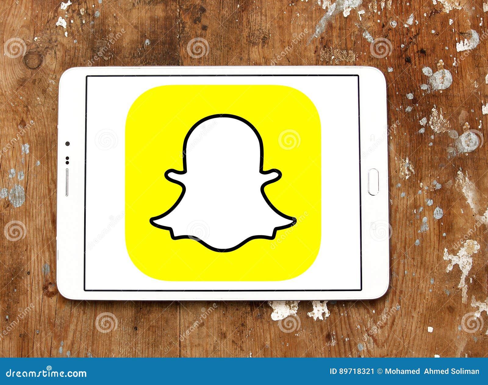 Snapchat logo editorial photo  Image of facebook, samsung