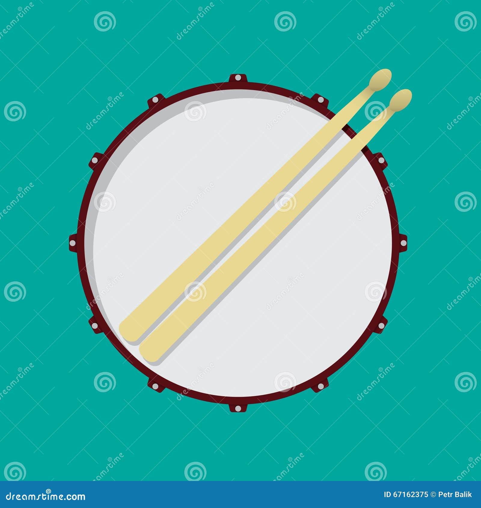 snare drum stock vector image 67162375. Black Bedroom Furniture Sets. Home Design Ideas