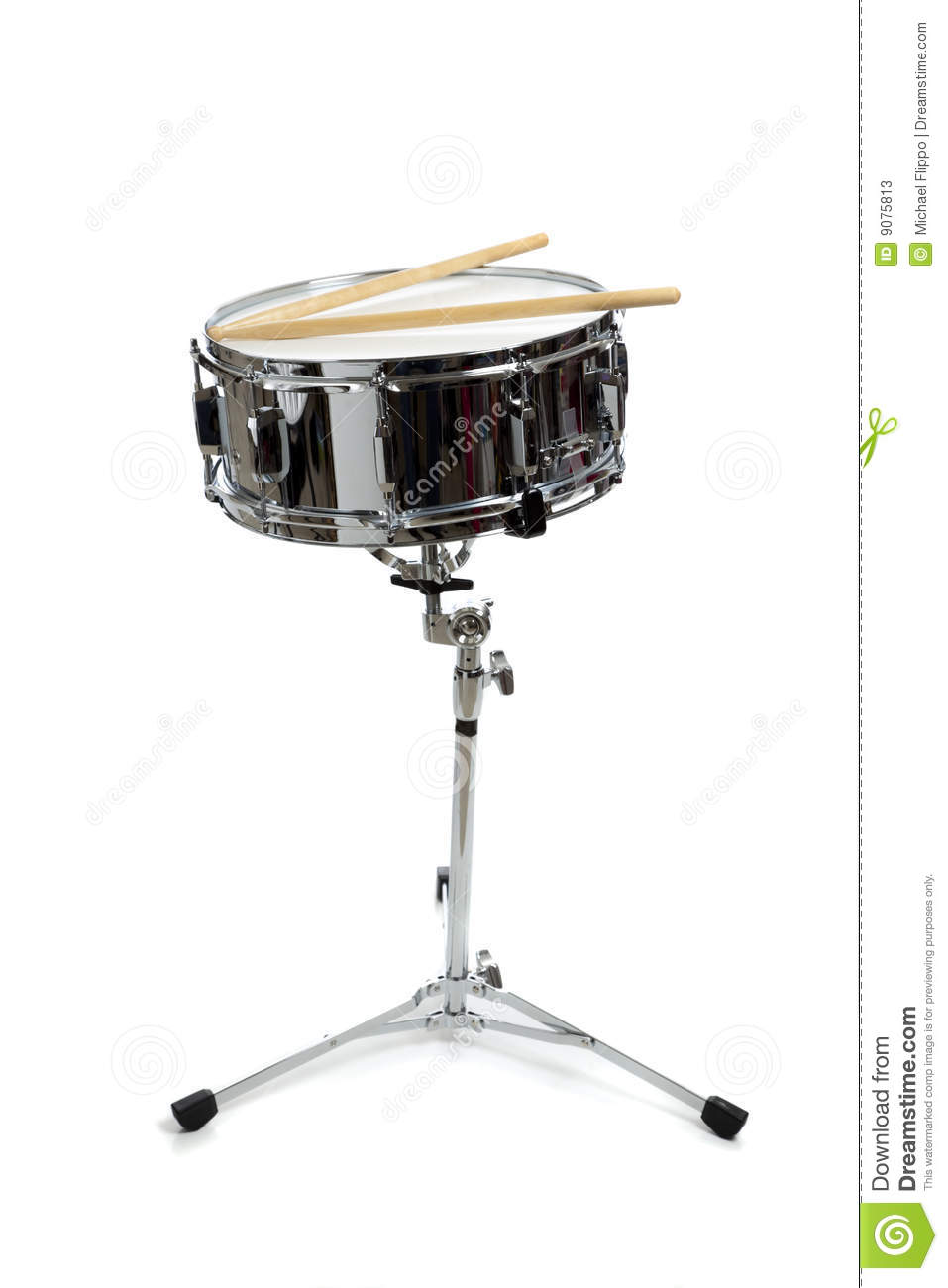 snare drum on stand stock photos