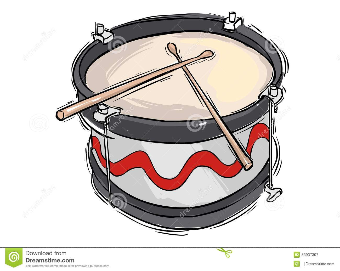 Snare Drum Royalty Free Vector
