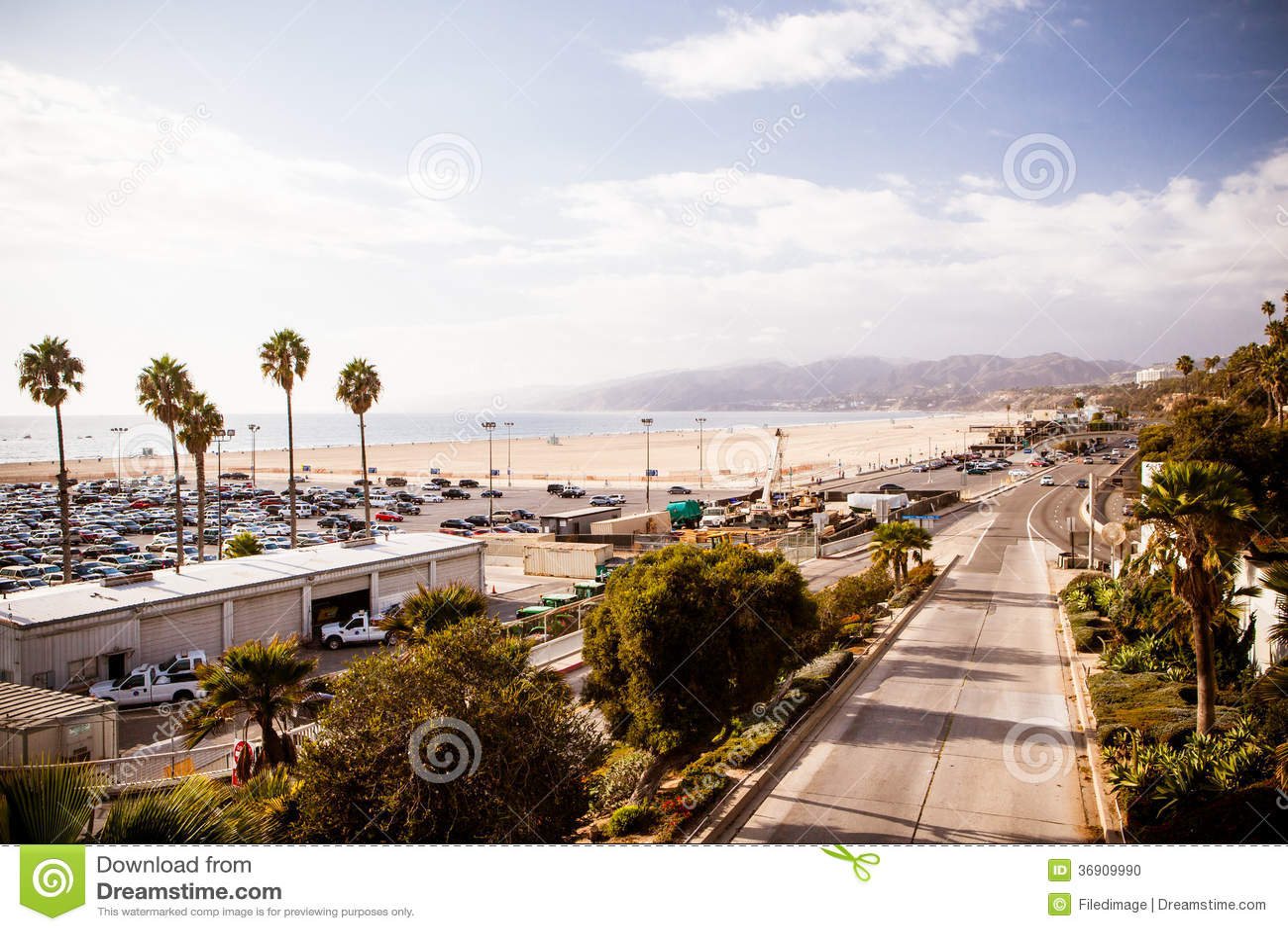 Snata Monica autostrada