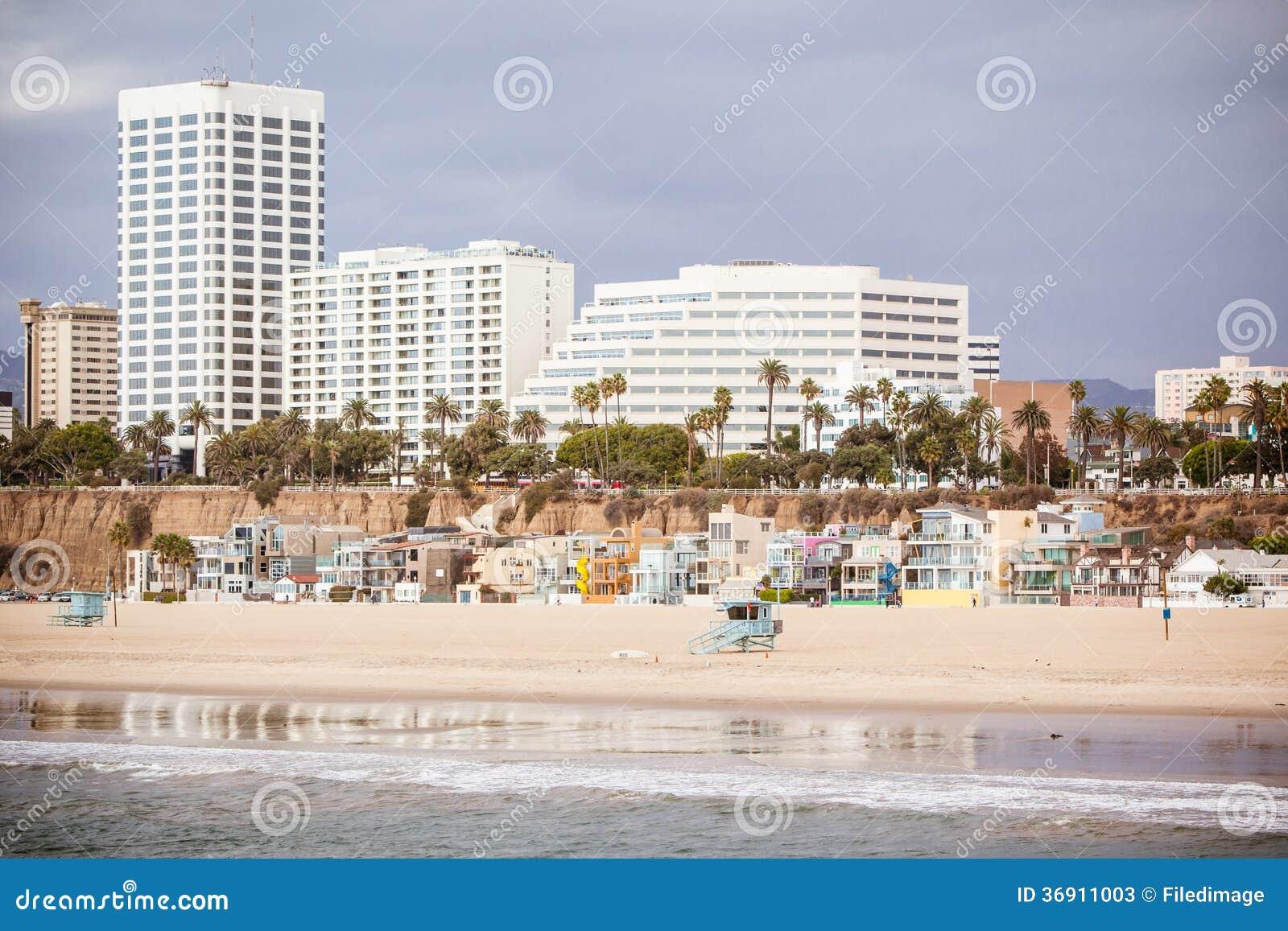 Snata Monica plaży przód