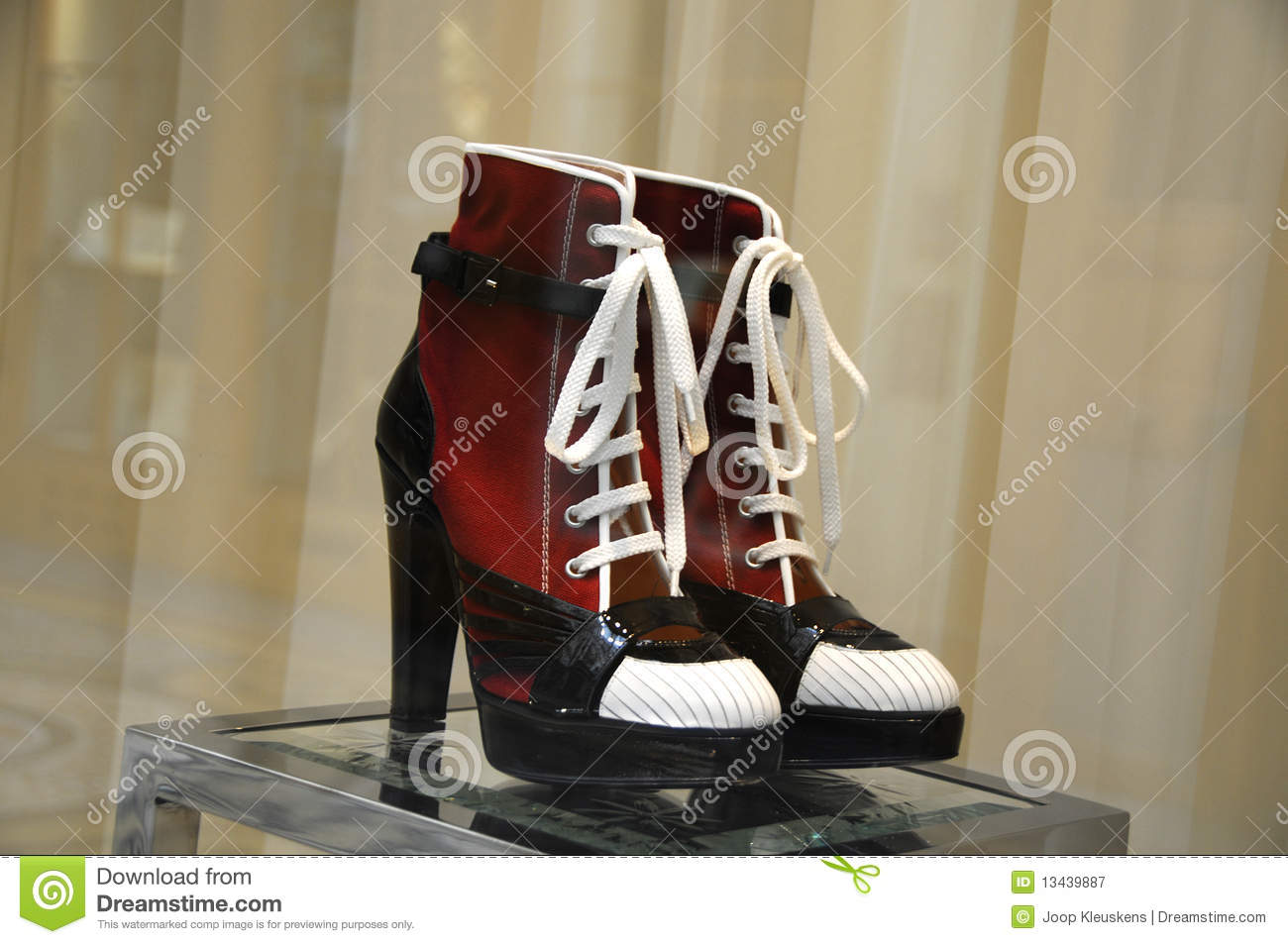 sneakers with high heels stock image image of high style