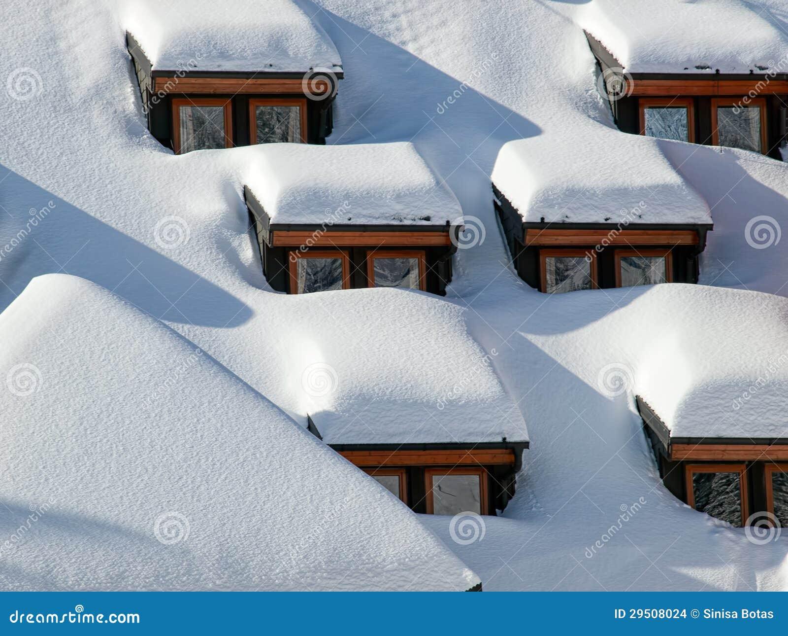Sneeuw vensters