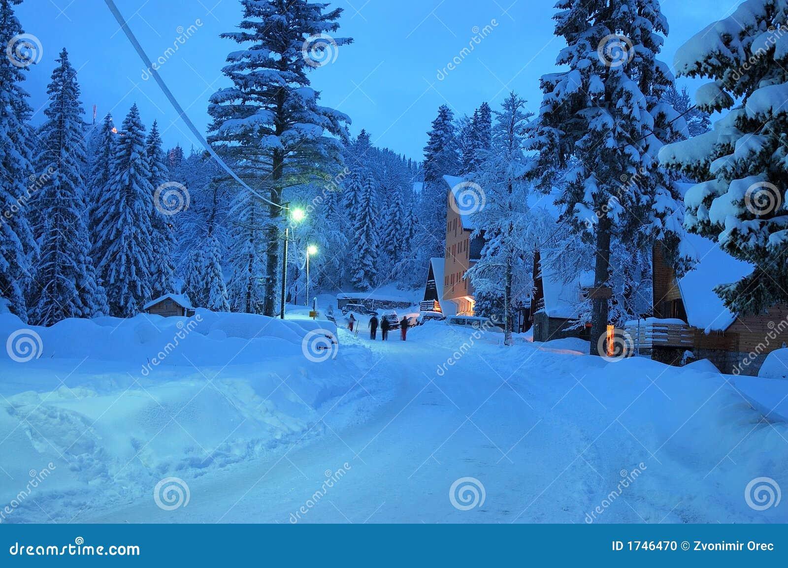 Sneeuw weg