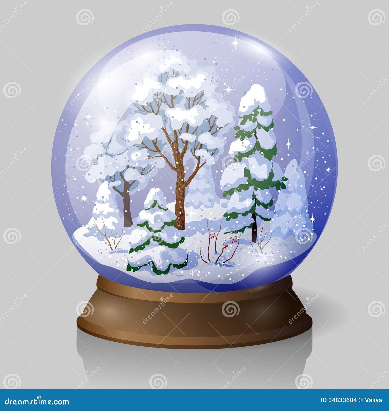 snow falling animated gif