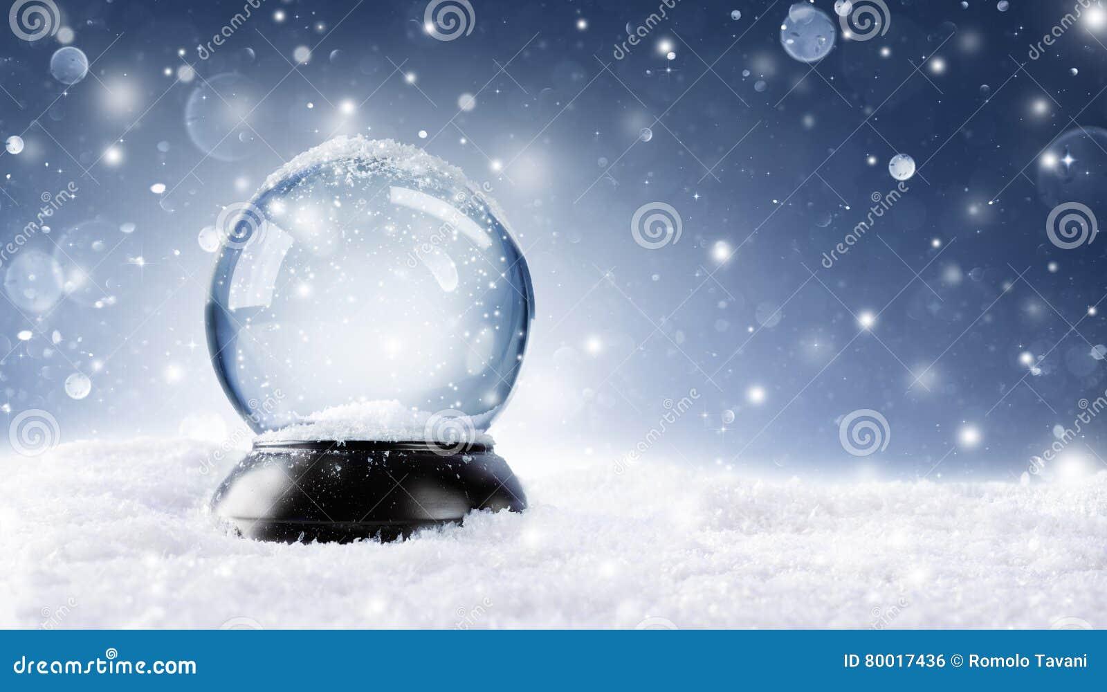 Sneeuwbol - Kerstmis Magische Bal