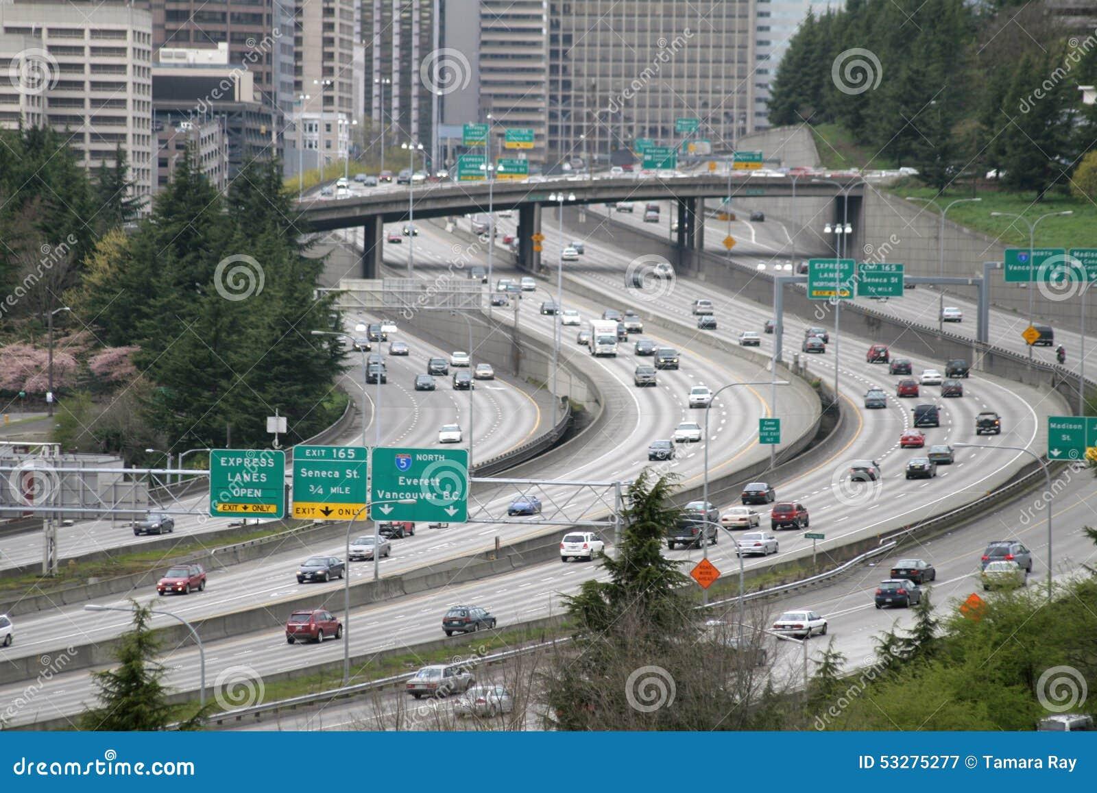 Snelwegverkeer tusen staten
