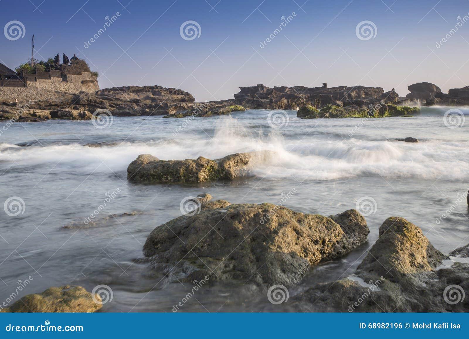 Snenic widok plaża w Bali