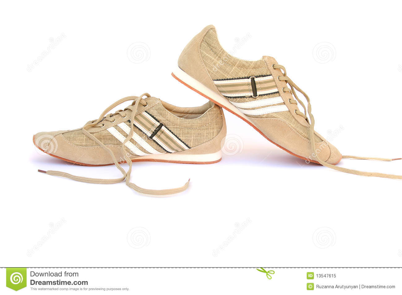 Snickers Shoes Royalty Free Stock Photo - Image: 13547615