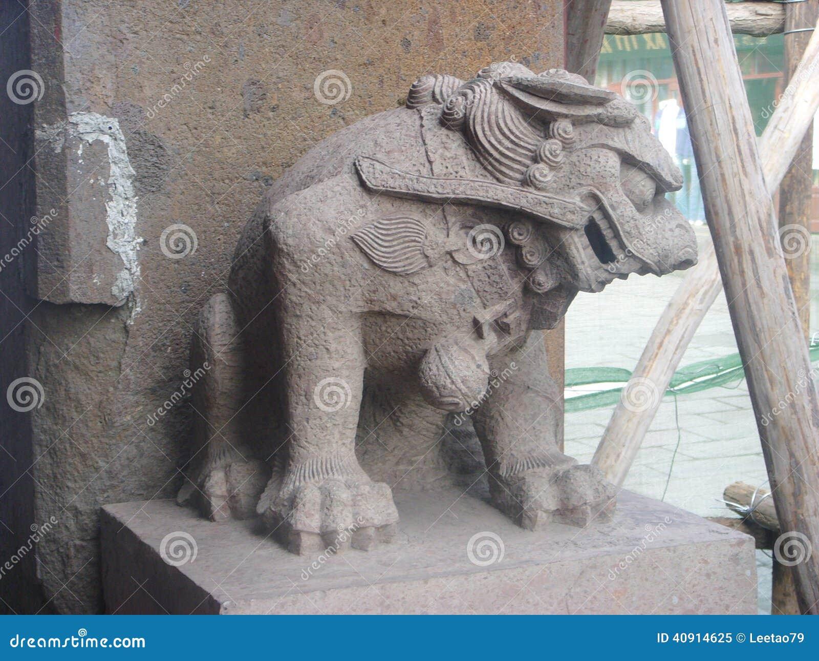 Snida för  för ¼ för kinesXingcheng forntida cityï