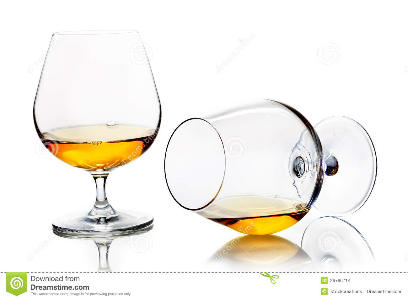 Brown M M S In A Brandy Glass
