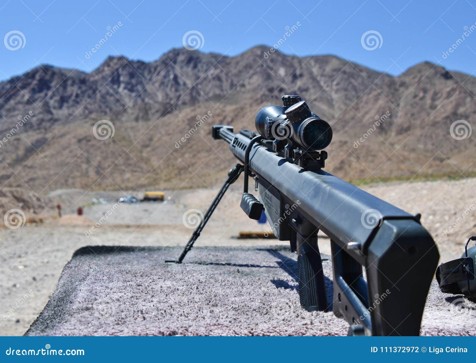 Sniper Barrett rifle , 0.50 caliber, m82a1