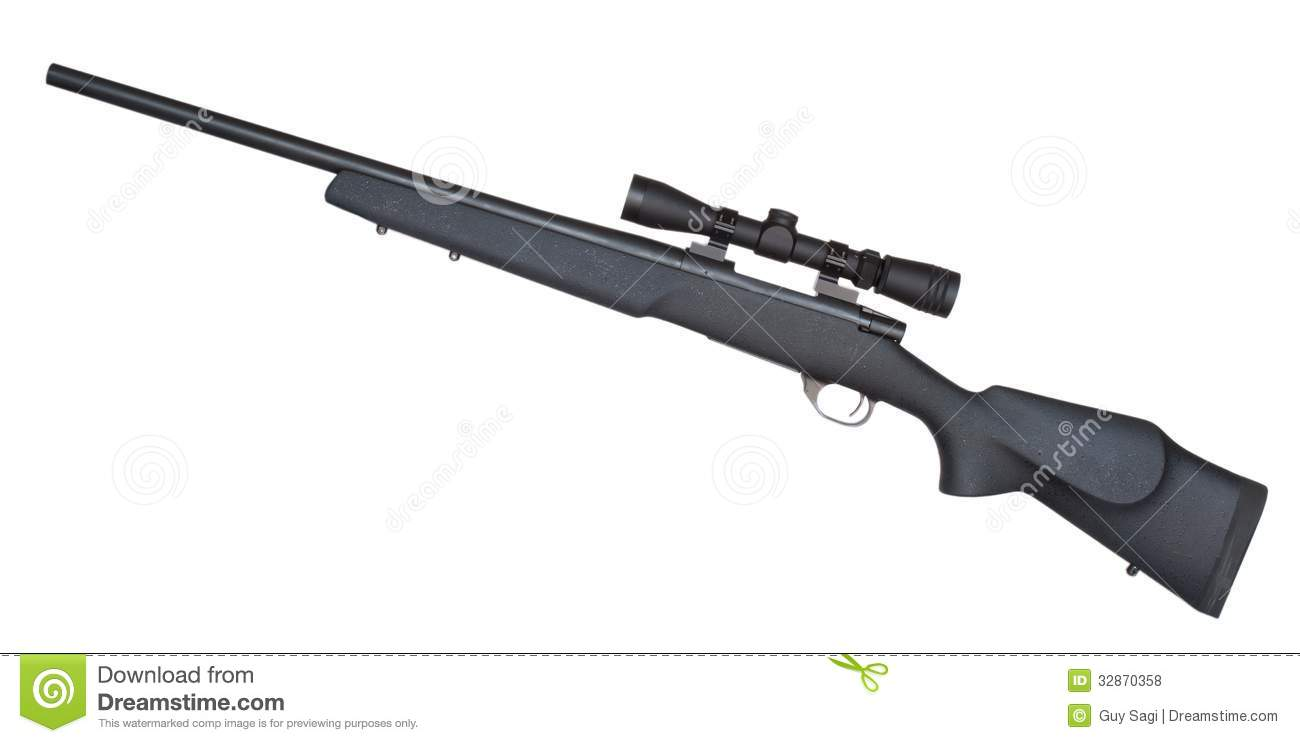 how to make a sniper rifle at home