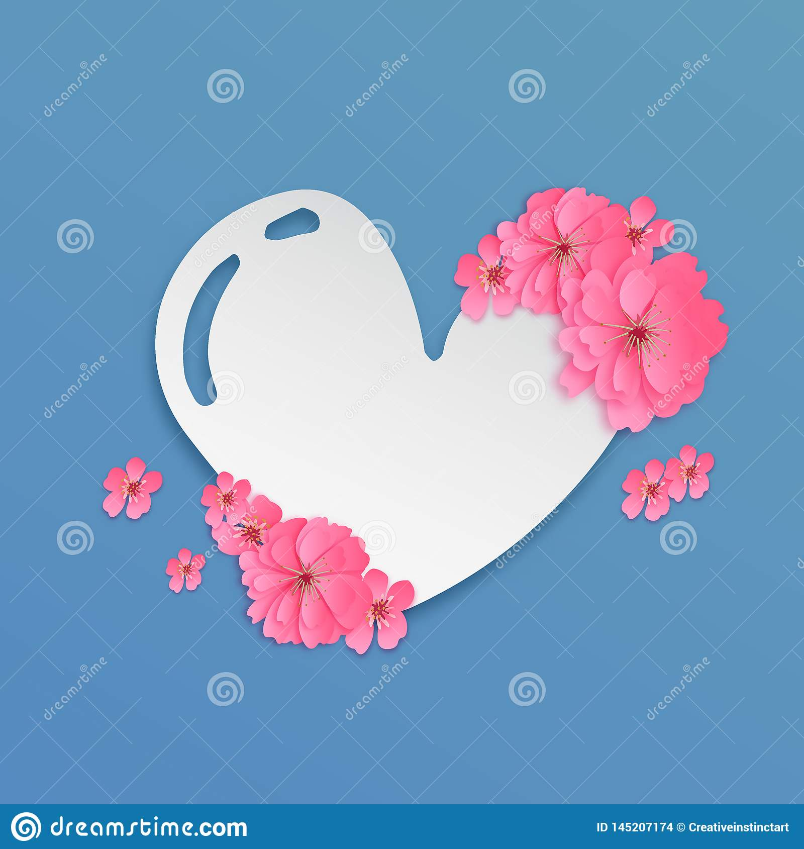 Snitt eps 10 för förälskelsesymbolpapper