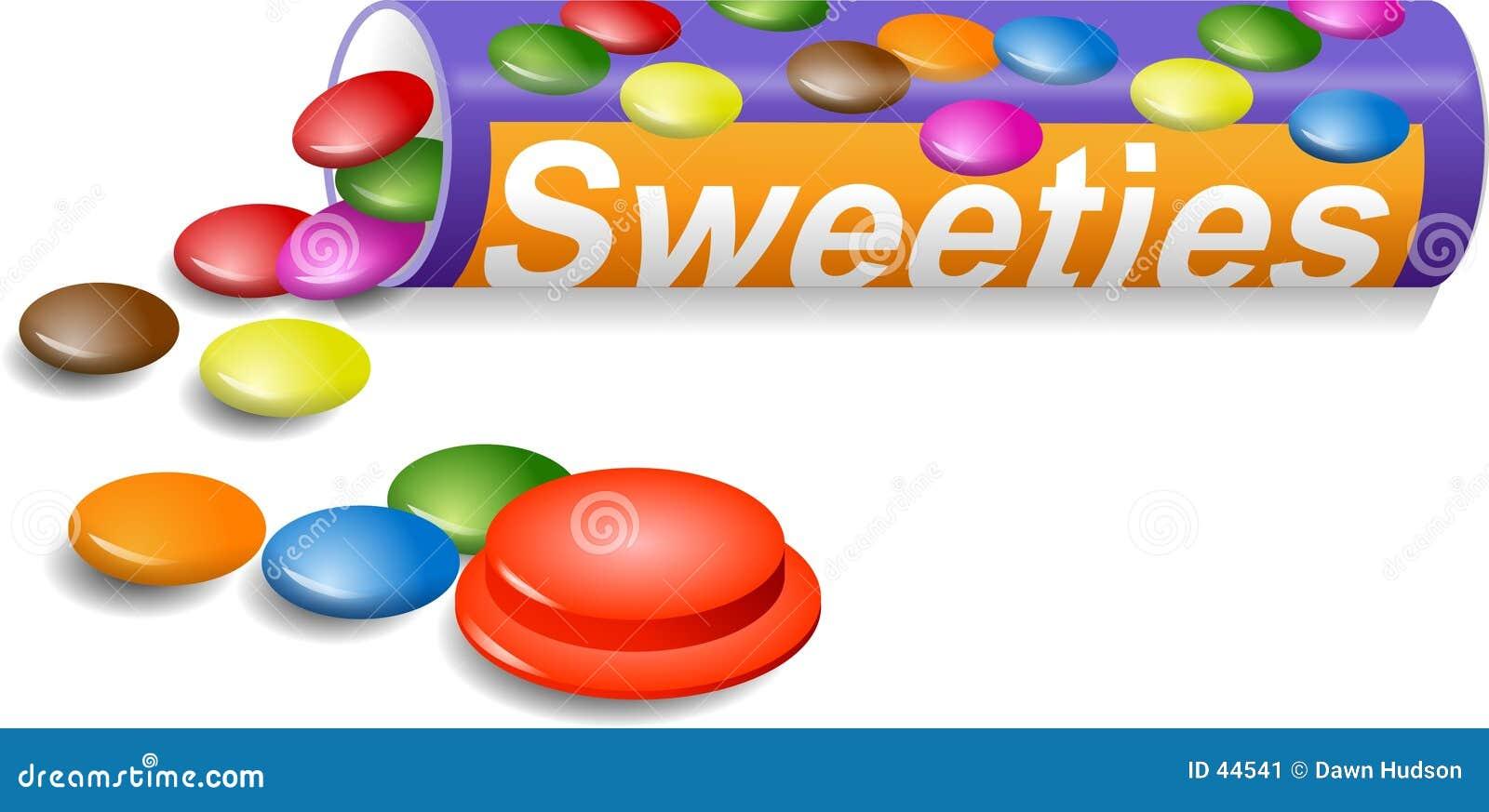 Download Snoepjes stock illustratie. Illustratie bestaande uit suiker - 44541