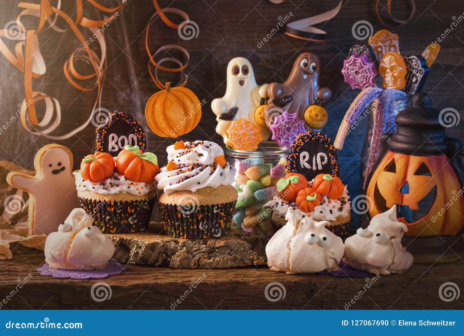 Snoepjes voor Halloween-partij