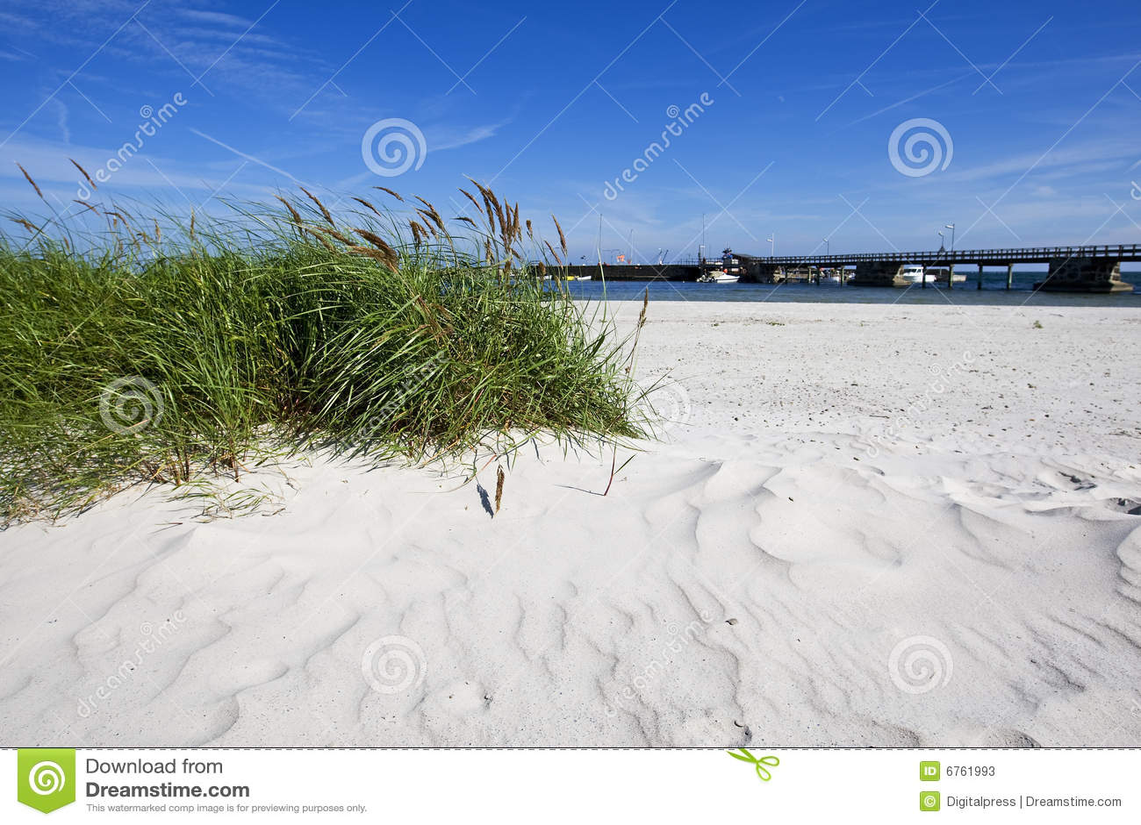 Snogebaek, beach Bornholm, Denmark