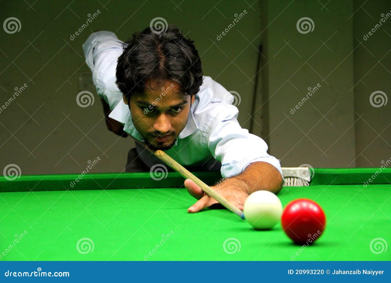 Snooker игрока