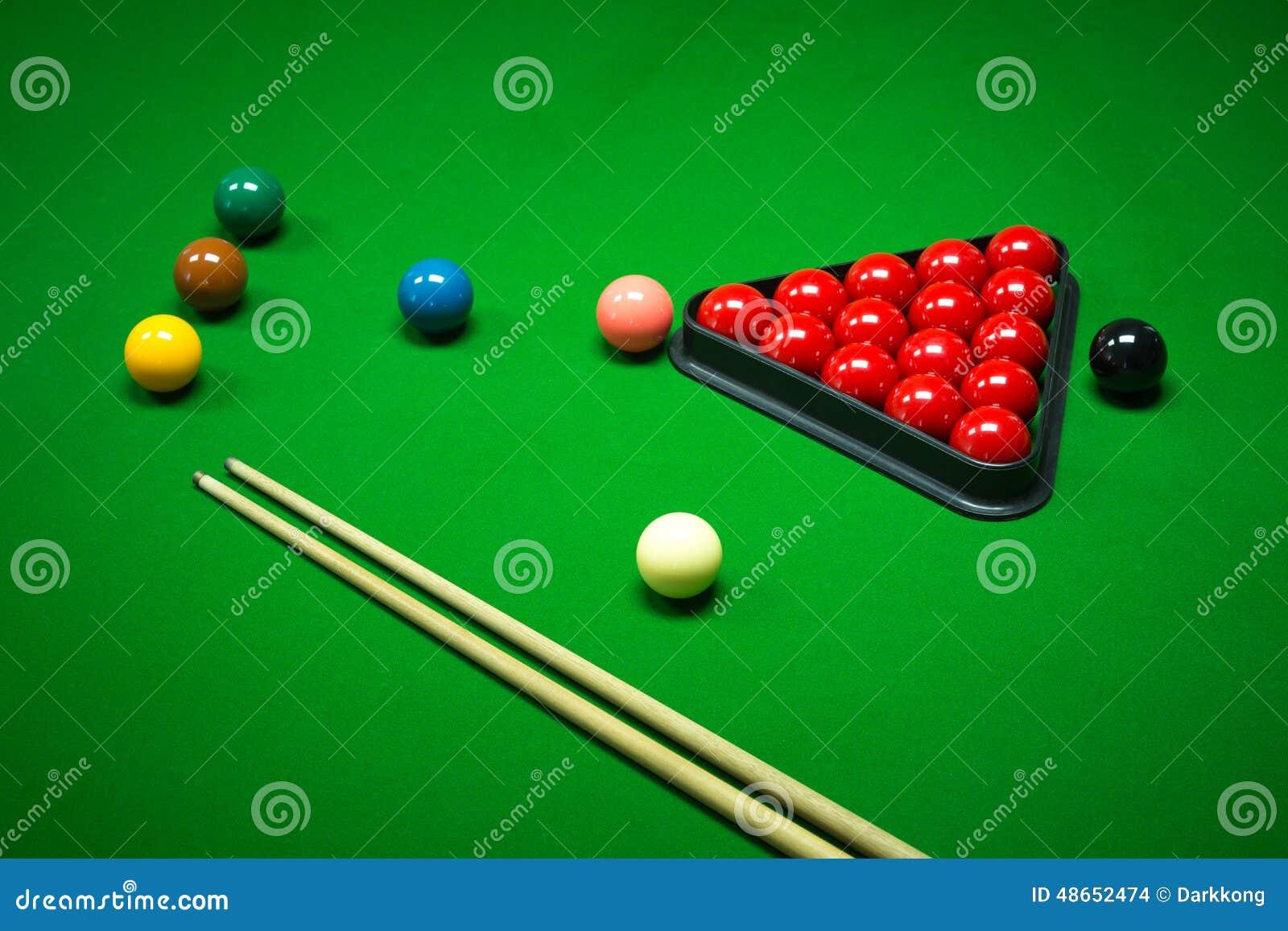 Snooker Balls Set Stock Photo Image Of Background Indoor