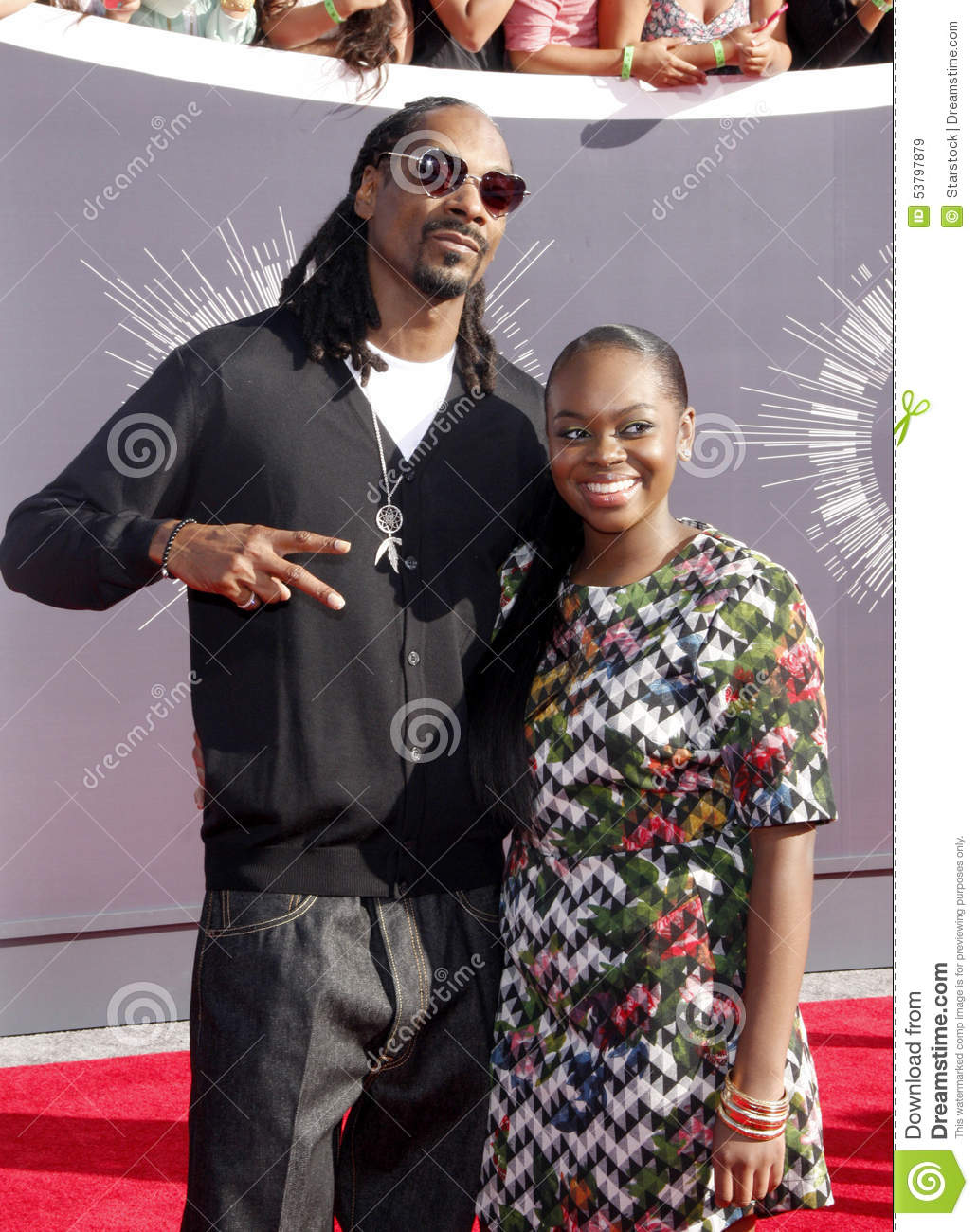 Snoop Dogg And Cori Broadus Editorial Stock Image - Image ...