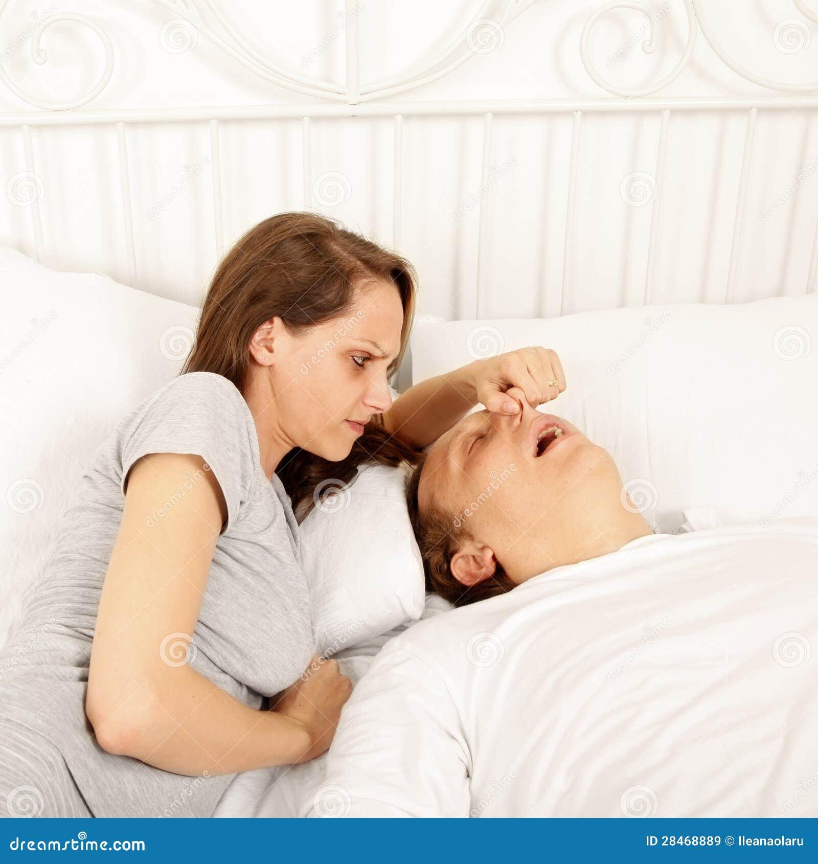 Why snoring men