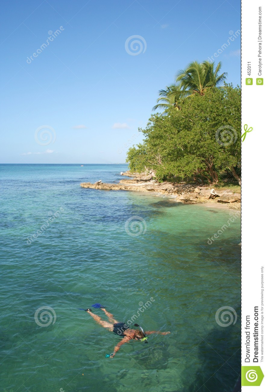 Download Snorkeling stock image. Image of sport, tropical, woman - 452011