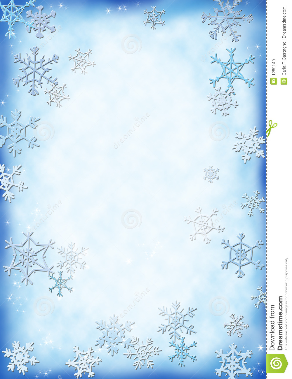 Snow Background Royalty Free Stock Images - Image: 1289149