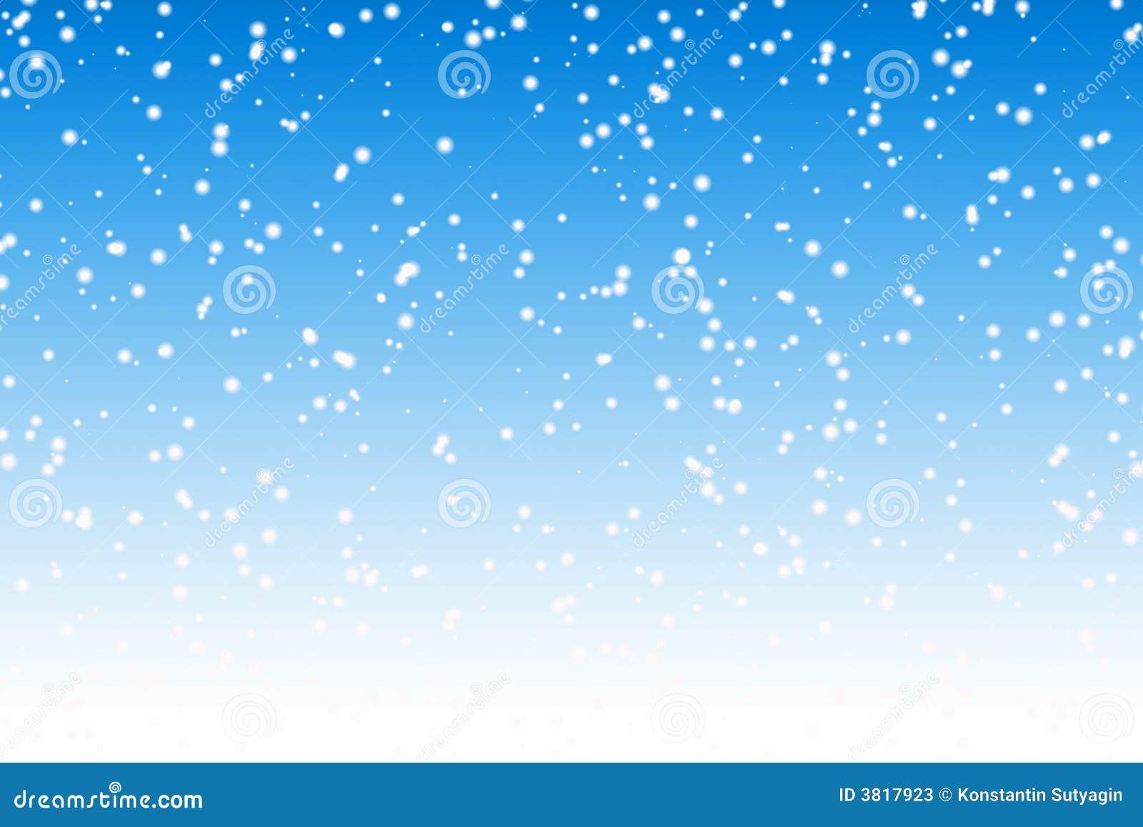 Snow Background Stock Photos - Image: 3817923 Falling Snowflake Vector