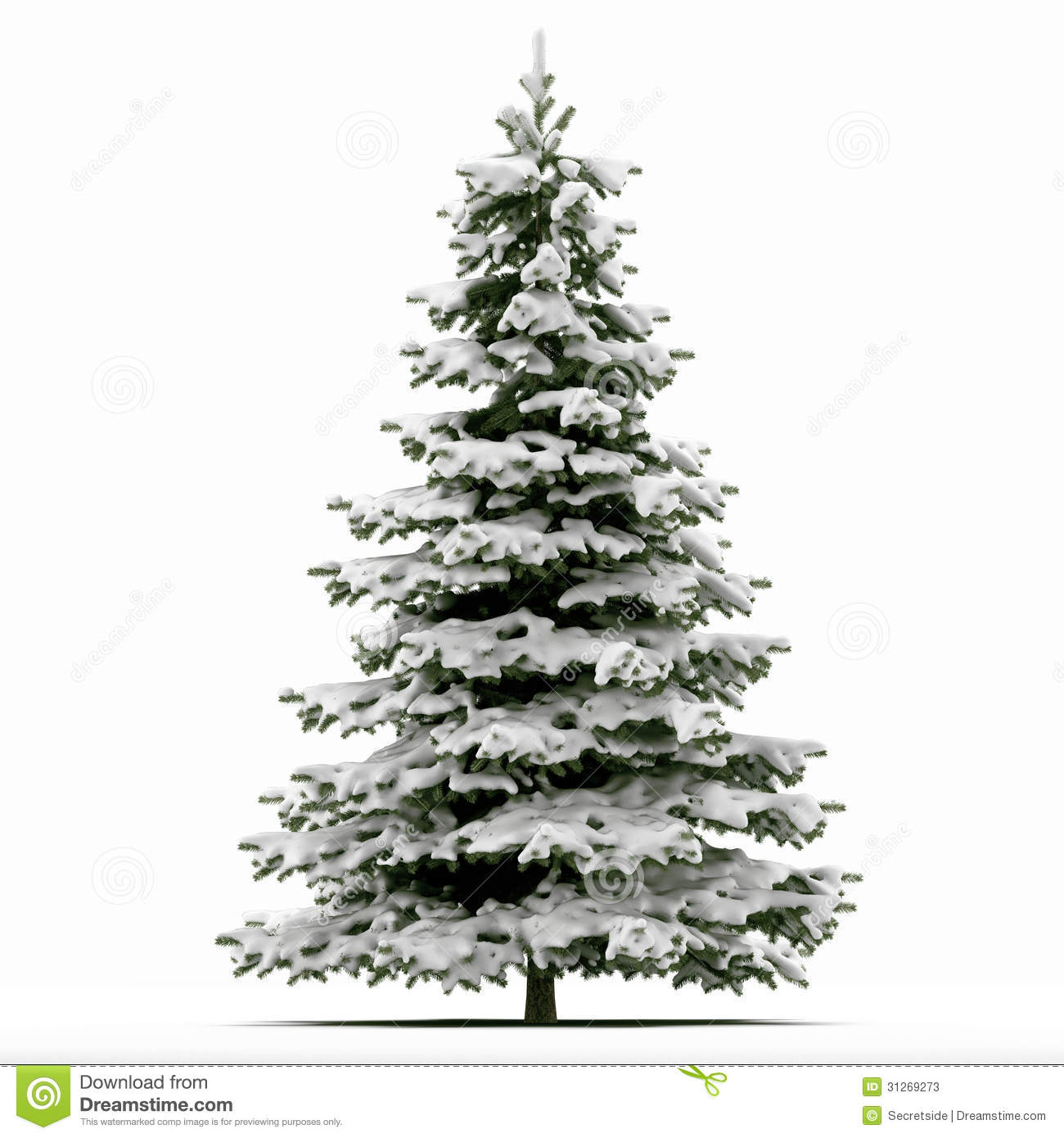 snow covered christmas tree stock photos image 31269273. Black Bedroom Furniture Sets. Home Design Ideas