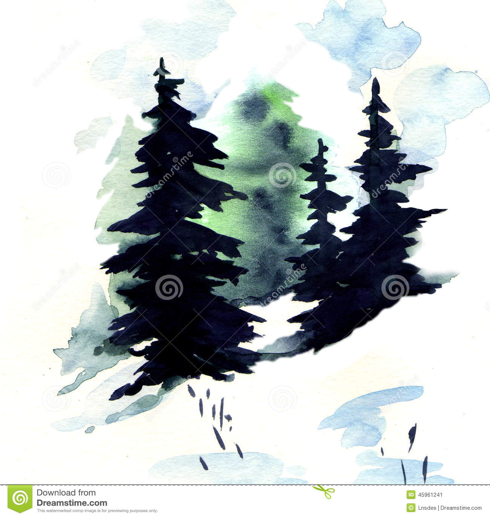 Black Friday Christmas Trees
