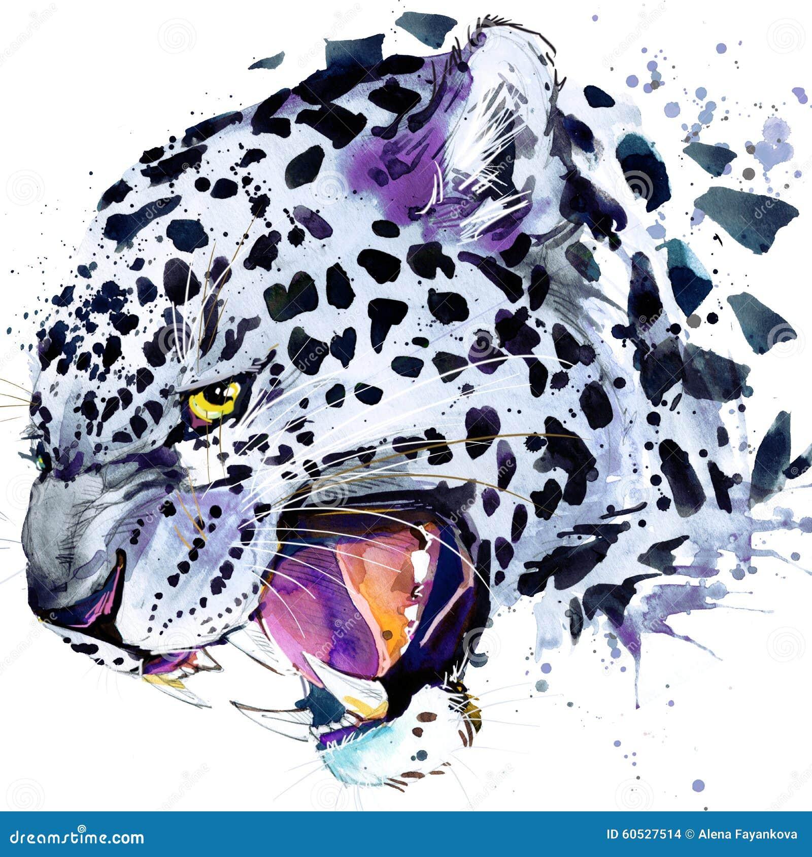 Leopard Design T Shirts