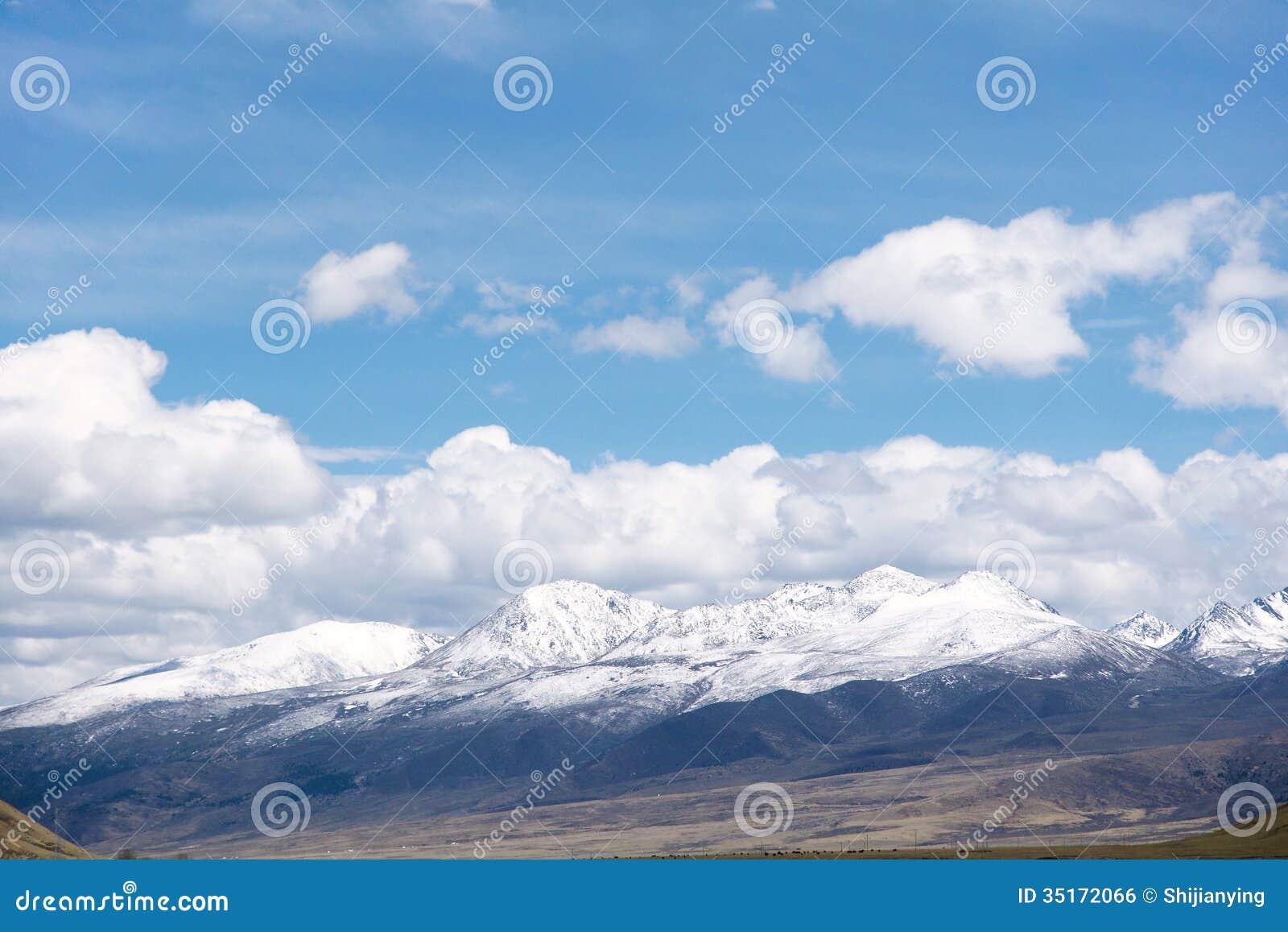 landscape sky clouds snow - photo #13