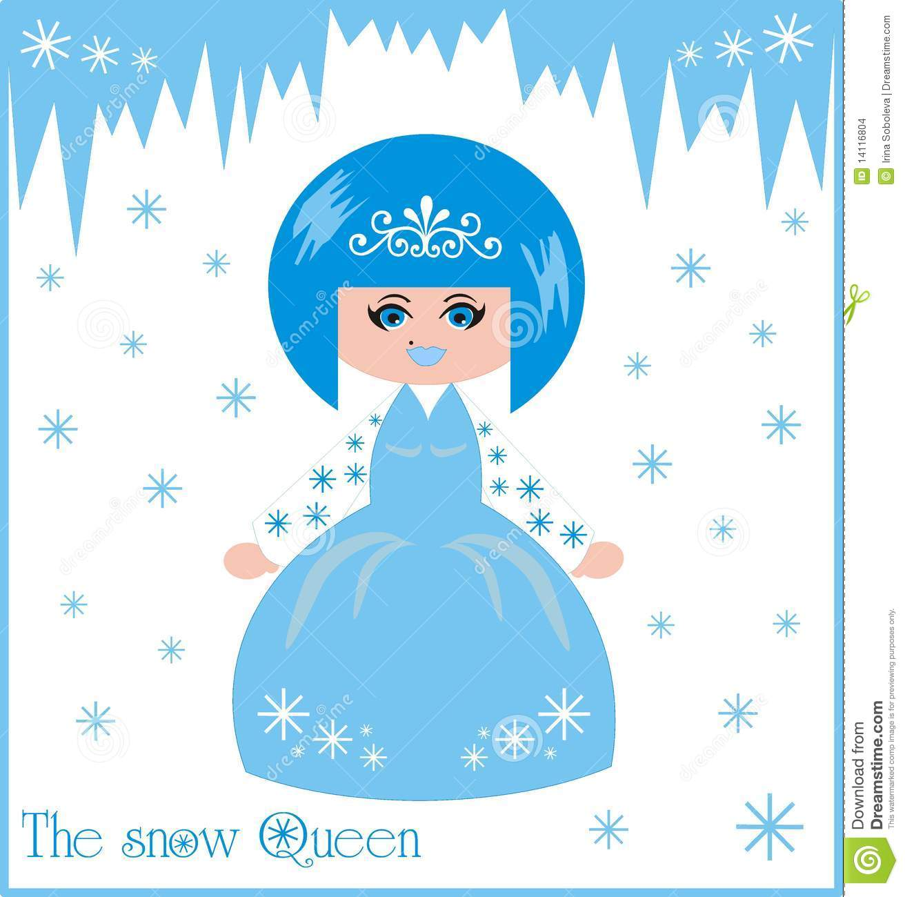 The Snow Queen Stock Images - Image: 14116804