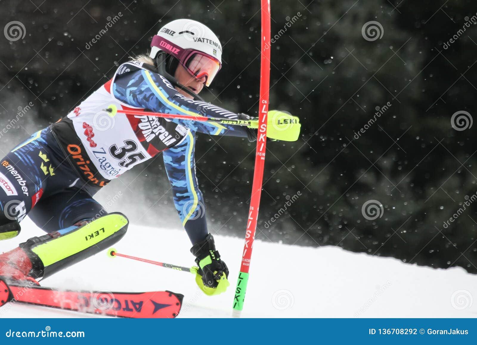 Snow Queen Trophy 2019 - Ladies Slalom