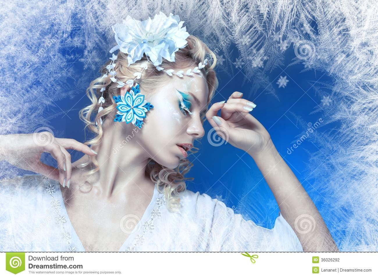 Snow Queen Stock Photography Image 36026292