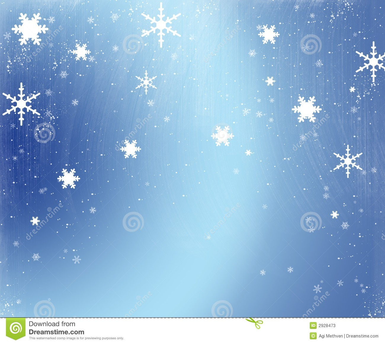 An illustration depicting a snowflake background.