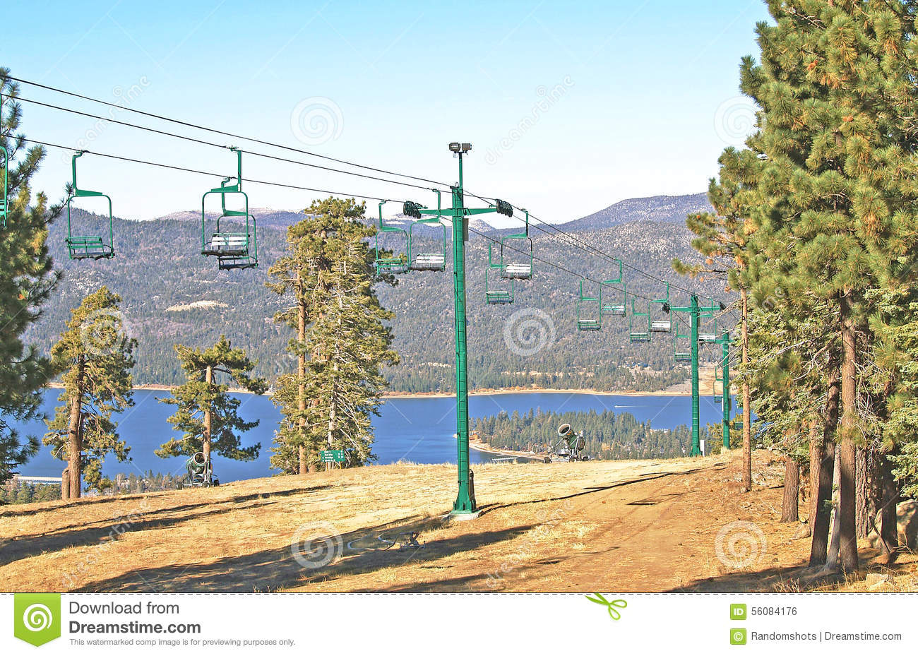 Summit Chair Lift snow summit chair lift stock photo - image: 56084176