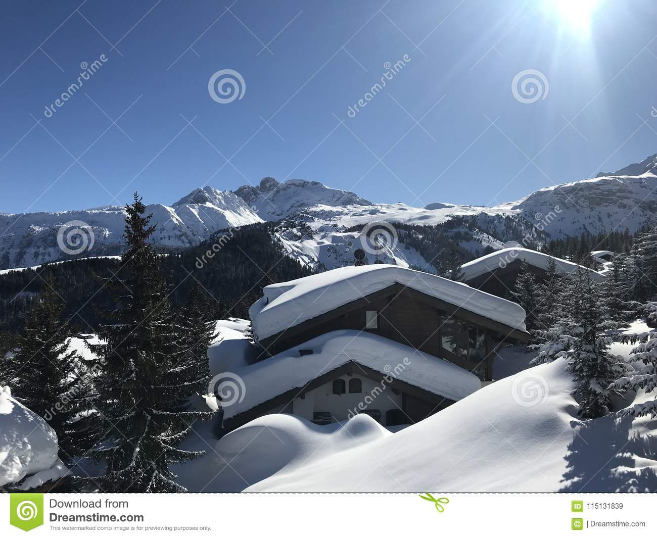 Snow top chalets